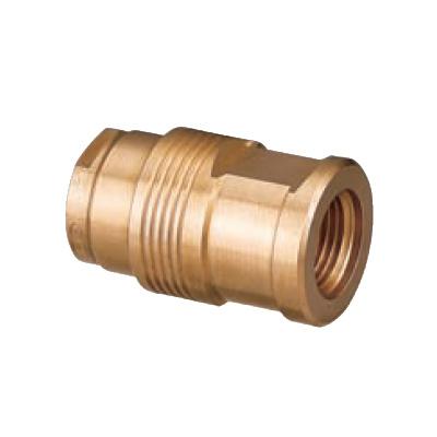 オンダ製作所:給水栓ソケット 青銅製 (お買い得パック) 型式:WJ21-1313C-S(1セット:10個入)
