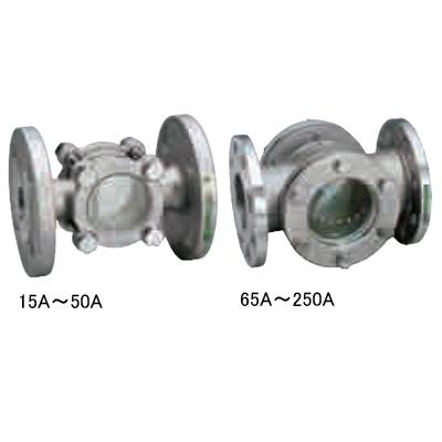 ワシノ機器:ステンレス製フラッパー式サイトグラス <GKF13F> 型式:GKF13F-65