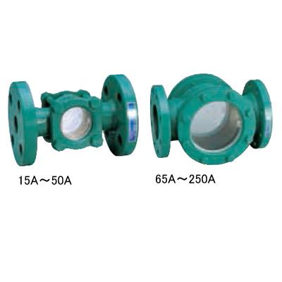 ワシノ機器:透視式サイトグラス <GAF> 型式:GAF-50