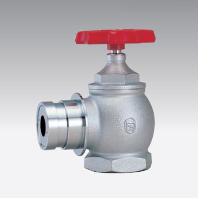 立売堀製作所:消火栓弁 65×90°差込式減圧型 <V1665> 型式:V1665