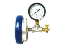 お洒落 消防用配管器具 消防 高い素材 散水用継手 型式:23SSI65A 岩崎製作所:止水圧力測定器 テスト金具