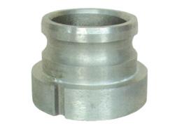 岩崎製作所:衛生カムロック媒介(衛生メス×カムロックオス) アルミ製 型式:44VC1210A