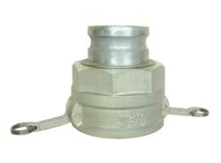 岩崎製作所:カムロック媒介(カムロックメス×カムロックオス) アルミ製 型式:44CAB1210A