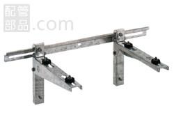 バクマ工業:壁面用架台「ブラケットタイプ」 型式:B-KBM(1セット:4個入)