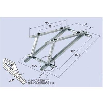 バクマ工業:屋根直角置用架台 型式:B-YAM2(1セット:4個入)