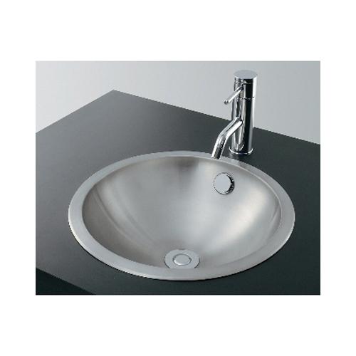カクダイ:ステンレス丸型洗面器 型式:493-041