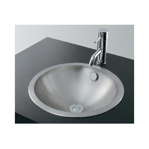 カクダイ:ステンレス丸型洗面器 型式:493-042