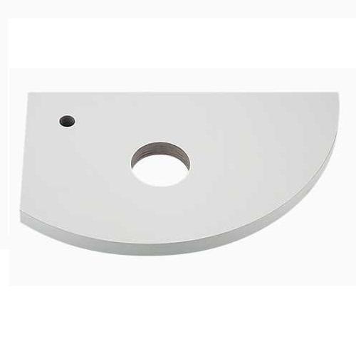 カクダイ:コーナーカウンター(L・R兼用タイプ) 型式:497-007-W(深雪)