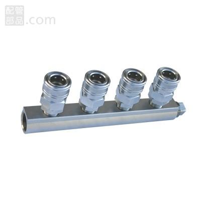 ヤマトエンジニアリング:エアーヘッダー カップリング <PAL4-40-4> 型式:PAL4-40-4