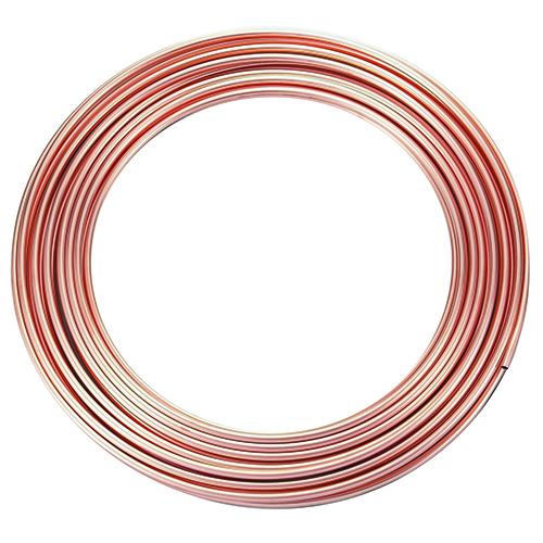 有名な パイプ 銅管 特価キャンペーン なまし銅管 フローバル:コイル銅管 型式:コイル銅管-6X0.8X10M