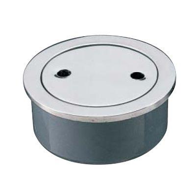 ミヤコ:ステンレス掃除口(VP・VU兼用) 型式:M132WS-150