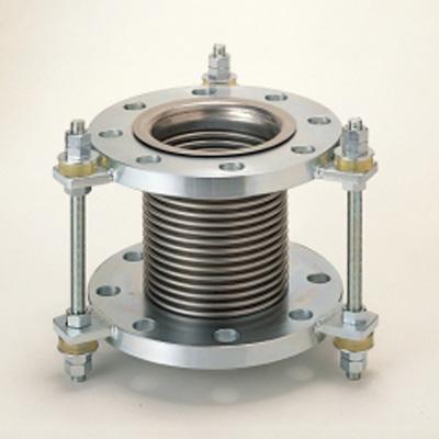 トーフレ:防振継手 2プライオメガバーサジョイント NO溶接タイプ 10K用(内筒なし) <TX-83000> 型式:TX-83000 100A×150L(10K用)
