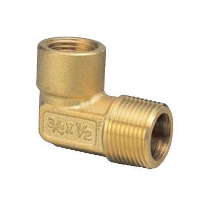 オンダ製作所:エアー抜きエルボ ヘッダー用 黄銅製 (お買い得パック) <SR> 型式:SR-303(1セット:30個入)