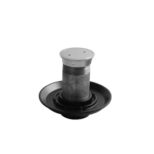 伊藤鉄工(IGS):防水皿付き床上掃除口 型式:COB-150