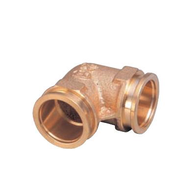 オンダ製作所:クイックジョイント給水給湯用 エルボソケット 青銅製 (お買い得パック) 型式:QSL3-20C-S(1セット:50個入)