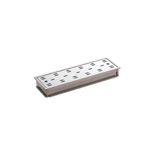 ミヤコ:ステンレス枠付排水目皿(深型) 型式:FM15-45D