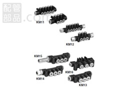 SMC:マニホールド 型式:KM12-06-02-10(1セット:5個入)