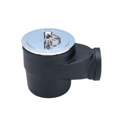 ダイドレ:床排水トラップ 非防水層用 簡易共栓付 <T7At 50> 型式:T7At 50