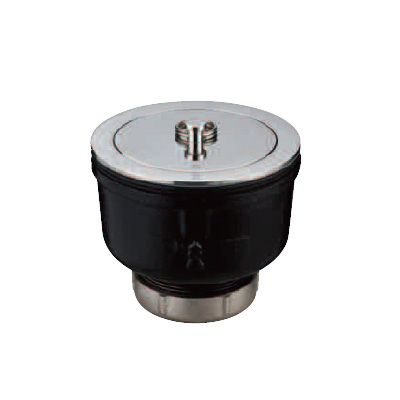 ダイドレ:流し金具 金属流し用 簡易共栓付 <SND-AB-F> 型式:SND-AB-F 40