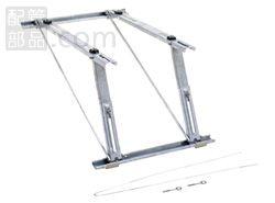 オーケー器材:RAキーパー 屋根直角置台 型式:K-KLZ7G