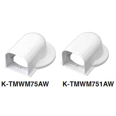 オーケー器材:ウォールカバー丸フランジ 型式:K-TMWM75AW(1セット:20個入)