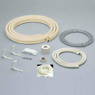 オーケー器材:フレア配管セット 電線、部材付 型式:K-HFD2335B(1セット:5セット入)