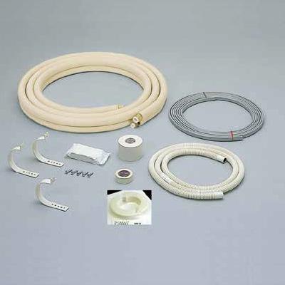 オーケー器材:フレア配管セット 電線、部材付 型式:K-HFD243B(1セット:5セット入)