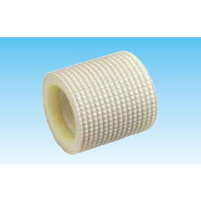 オーケー器材:保温材付ドレンパイプソケット アイボリー 型式:K-HESH25(1セット:50個入)