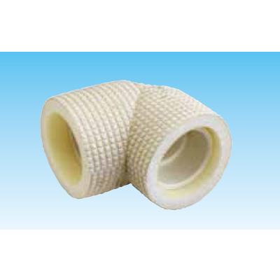 オーケー器材:保温材付ドレンパイプエルボ アイボリー 型式:K-HEEH20(1セット:45個入)