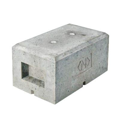 ネグロス電工:架台用基礎ブロック(凍害対策品) 型式:MKBS1C-M10