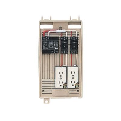 世界的に有名な 未来工業:屋外電力用仮設ボックス(漏電しゃ断器・分岐ブレーカ 型式:2L-2CT・コンセント内蔵) 型式:2L-2CT, スイーツジュエリーマーケット:1ead78bd --- construart30.dominiotemporario.com