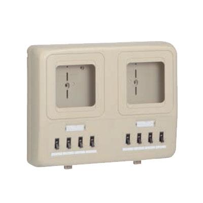 未来工業:電力量計ボックス 分岐ブレーカ(2P1E・20A)付 型式:WP4W-203M