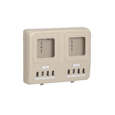 未来工業:電力量計ボックス(分岐ブレーカ(2P1E・20A)・ELB(2P30A・OC)付 型式:WP2W-201KM