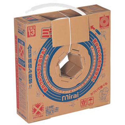 未来工業:ミラペックス・被覆 発泡被覆5mm厚 クルクルパック 型式:PEXK-10PF5