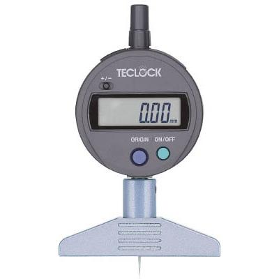【初回限定お試し価格】 デジタルデプスゲージ DMD-210S2 型式:DMD-210S2:配管部品 店 測定範囲0~12mm テクロック:テクロック-DIY・工具