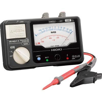 日置電機:HIOKI アナログ絶縁抵抗計(単レンジ) IR4011-10 IR4011-10 型式:IR4011-10