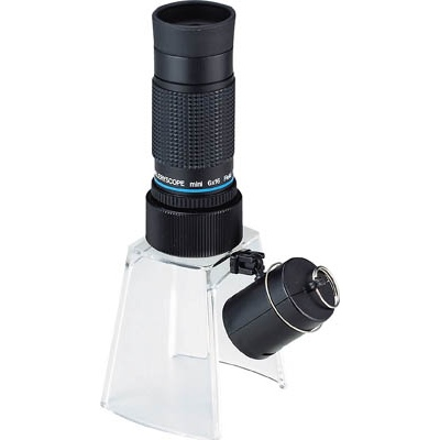池田レンズ工業:池田レンズ 顕微鏡兼用遠近両用単眼鏡 KM-616LS 型式:KM-616LS