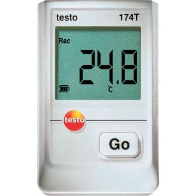 テストー:テストー ミニ温度データロガUSBインターフェイス付セット TESTO174T-S 型式:TESTO174T-S