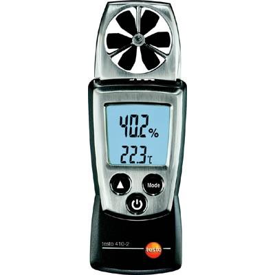 テストー:テストー ポケットラインベーン式風速計 TESTO410-2温湿度計付 TESTO-410-2 型式:TESTO-410-2