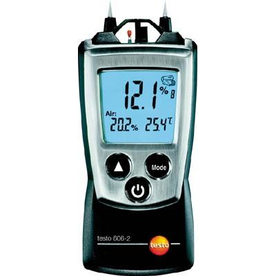 テストー:テストー ポケットライン材料水分計 TESTO606-2 温湿度計測機能付 TESTO-606-2 型式:TESTO-606-2