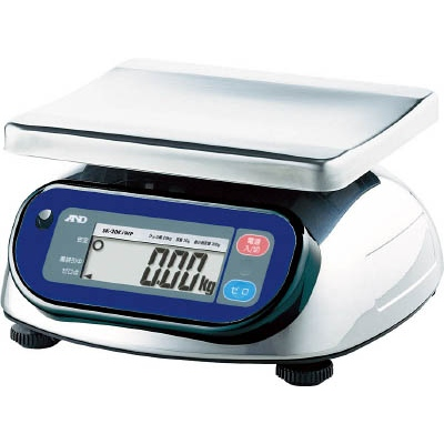 エー・アンド・デイ:A&D 防塵防水デジタルはかり(検定付・4区) SK1000IWP-A4 型式:SK1000IWP-A4