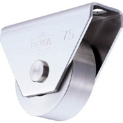 ヨコヅナ:ヨコヅナ ロタ・ステン重量戸車 120mm 平型 WBS-1202 型式:WBS-1202