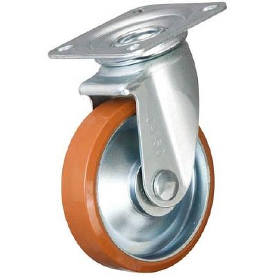 イノアック車輪:イノアック 中荷重用キャスター ログラン 旋回金具付 Φ250 P-250WJ 型式:P-250WJ