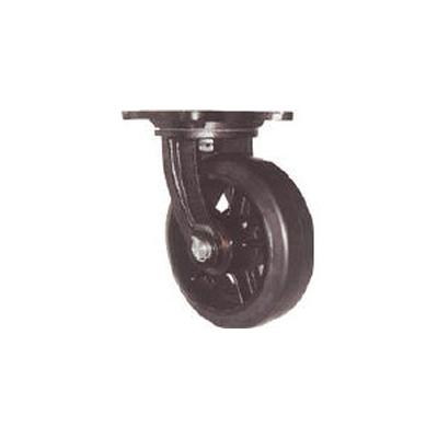 ヨドノ:ヨドノ 鋳物重量用キャスター 許容荷重656.6 取付穴径15mm MHA-MG250X90 型式:MHA-MG250X90
