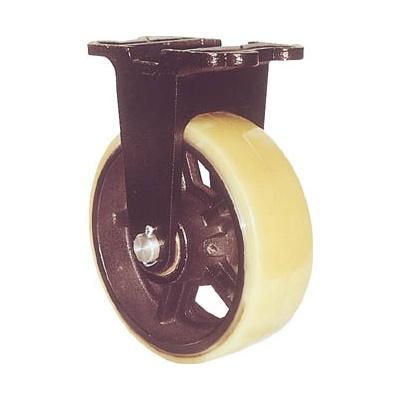 ヨドノ:ヨドノ 鋳物重量用キャスター 許容荷重1107.4 取付穴径15mm MUHA-MK300X75 型式:MUHA-MK300X75