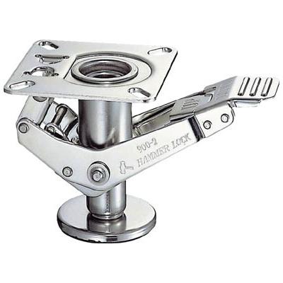 ハンマーキャスター:ハンマー オールステンレス ハンマーロック 900-4号 900-4-SUS150-BAR01 型式:900-4-SUS150-BAR01