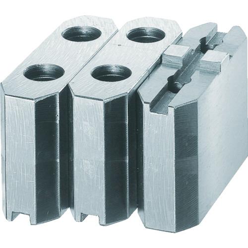 トラスコ中山:TRUSCO 生爪ソール用 標準型 チャック10インチ H90mm MSE-10-90 型式:MSE-10-90(1セット:3個入)