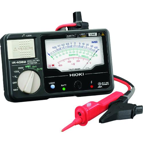 日置電機:HIOKI アナログオームハイテスタ IR408211 型式:IR408211