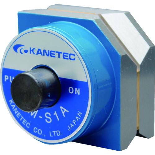 カネテック:カネテック マグネット六角ホルダ(押ボタン式磁石切換) KM-S1A 型式:KM-S1A