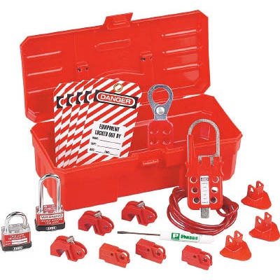 パンドウイットコーポレーション:パンドウイット 電気工事用ロックアウトキット PSL-KT-CONA 型式:PSL-KT-CONA